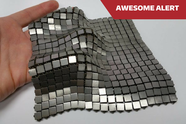 NASA DEVELOPS 3D PRINTED CHAIN MAIL FOR SPACE TRAVEL