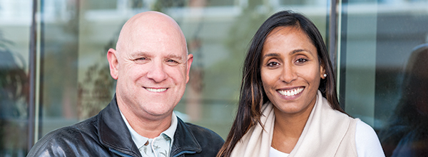 Claude Lurette and Kowsiya Vijayaratnam, co-chairs of the Patient, Family and Public Advisors Council