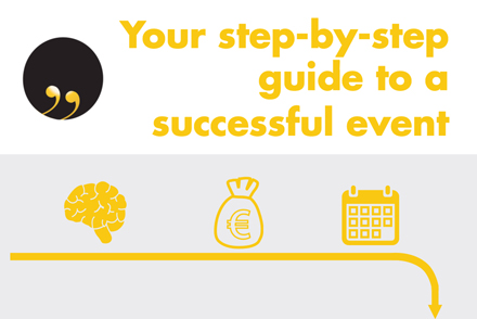 Step-by-step guide to successful events