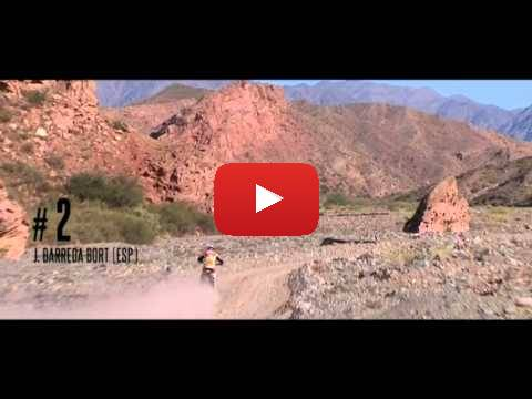 Team HRC Dakar Rally 2015. Stage 3