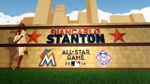 All-Star Player Stanton