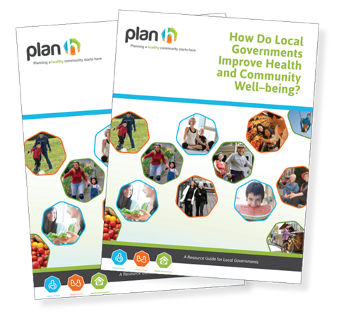 The report cover for the local governments action guide