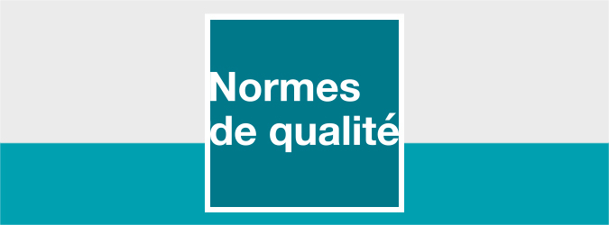 LOGO NORMES DE QUALITÉ