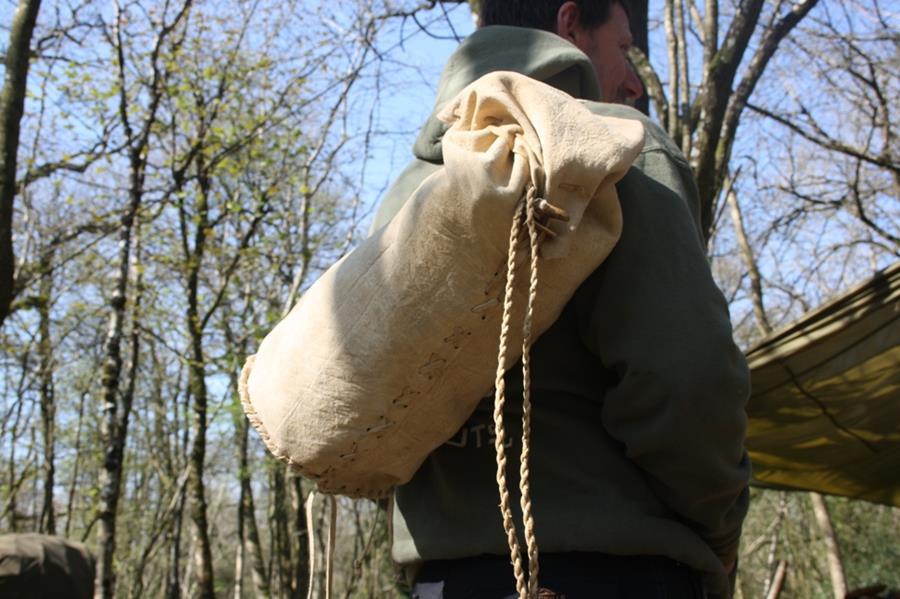 Buckskin duffle bag