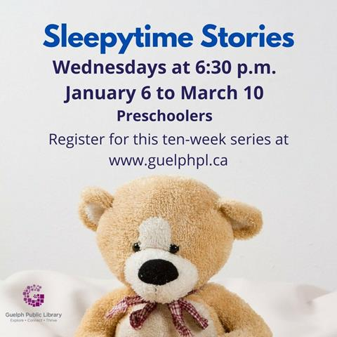Join Ben for stories and songs. This pre-recorded program can be enjoyed throughout the week before naptime, bedtime, or anytime! Ages: Preschool Registration required. Wednesdays at 6:30 p.m