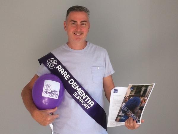 RDS Marathon runner and super supporter Mark Bentley