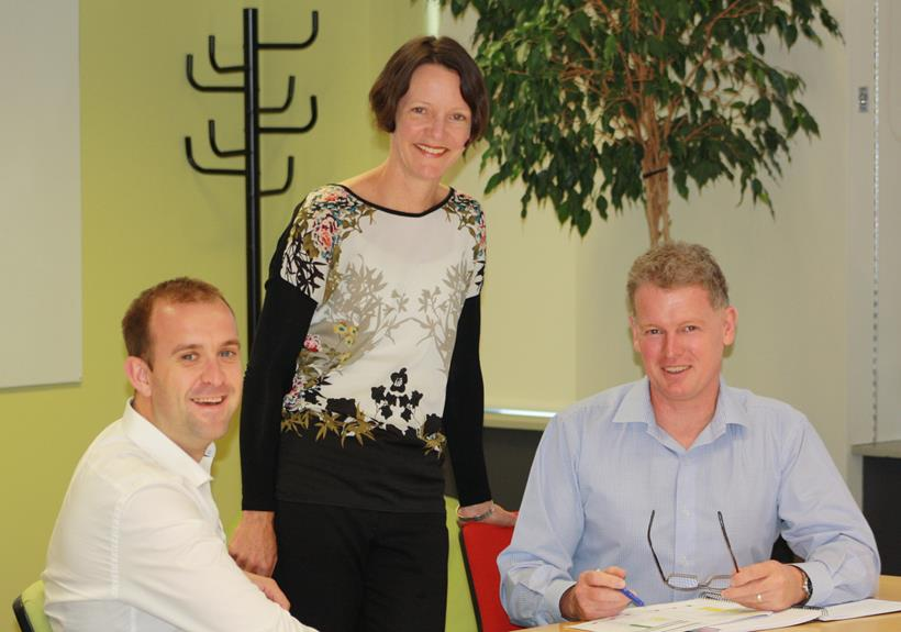 Team members for the new online forms: Ben Thomson (Systems & Products Advisor); Jo Gould (Principal Advisor); Kevin Richards (Team Leader Capability)