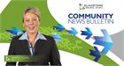 TV news bulletin
