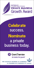 Ad: Grant Thornton – Nominate a business for the Private Business Growth Award