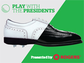 Play with the Presidents golf tournament
