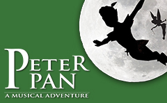 Combined schools musical logo - Peter Pan