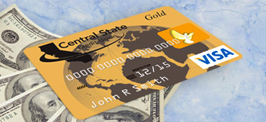 CSCU Visa credit card