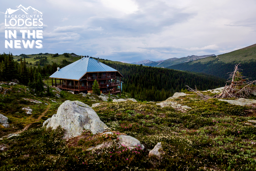 Purcell Mountain Lodge and 4 other BLBCA lodges featured in Explore Magazine