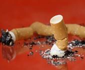 Burnt cigarettes