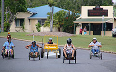 Billy cart races