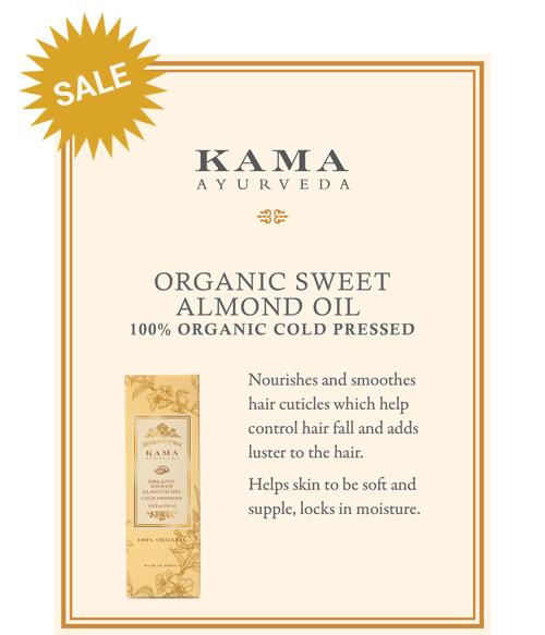 Kama Ayurveda Organis Sweet Almond Oil
