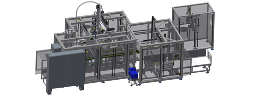 CP-GRT - Gantry Robot Collating Case Packer