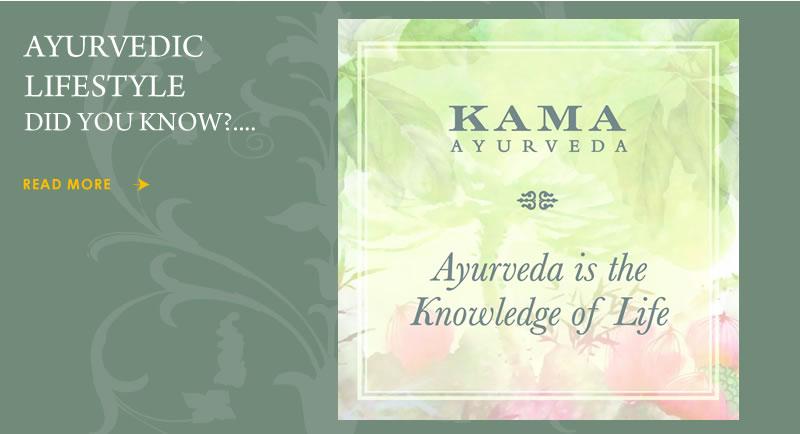 Ayurvedic Lifestyle