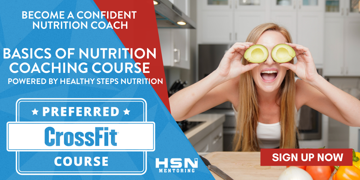 Do You Want To Feel Confident When Helping Clients With Nutrition?
