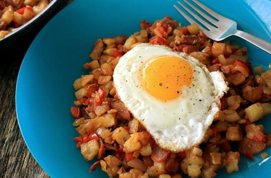 Bacon breakfast hash