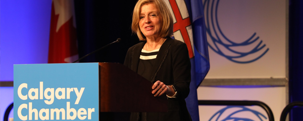 Premier Notley addresses Calgary businesses on getting Alberta energy to new markets