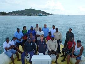 Students training in the Torres Strait