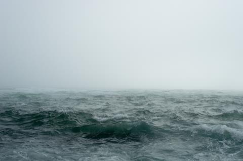 Choppy seas