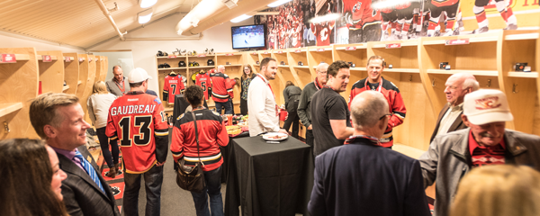 Behind the scenes with the Calgary Flames