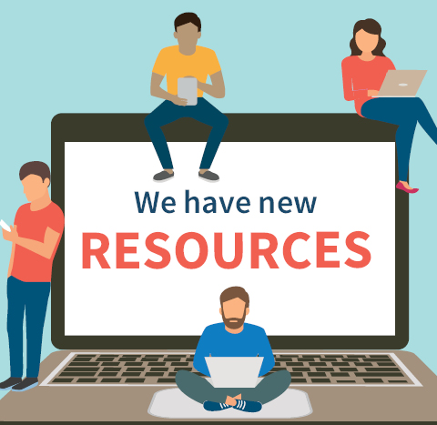 We have new resources