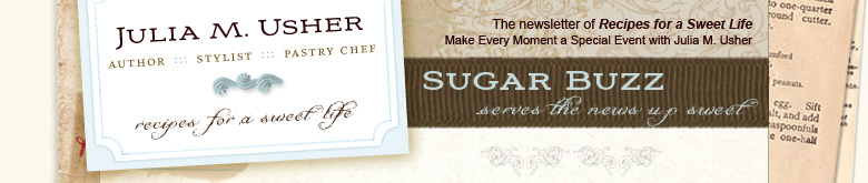 Sugar Buzz Newsletter