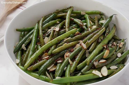 Mustard Green Bean Salad