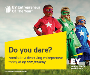 Ad: EY Entrepreneur of the Year