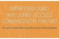Walking Access Awards