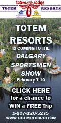 Totem Resorts at Calgary Sportsmen Show