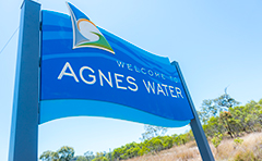Agnes Water sign