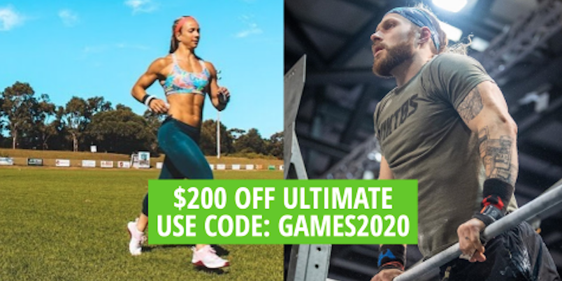 Celebrate The 2020 CrossFit Games With $200 Off Ultimate Plus a Free Dietitian Consultation