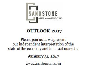 Ad: Sandstone Asset Management - Outlook 2017