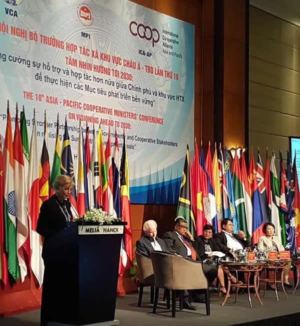 10th Asia-Pacific Co-operative Ministers' Conference held in Vietnam