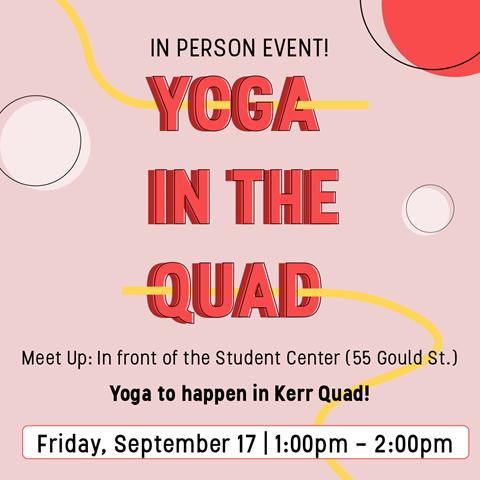 Yoga in the Quad