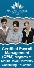 Mount Royal University Certified Payroll Management