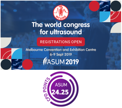 One Day WFUMB 2019 Congress CPD Points