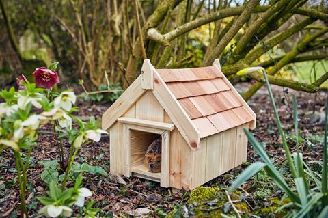 The Posh Shed Company Hedgehog House