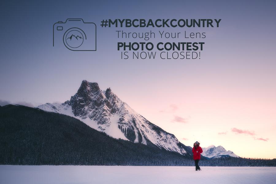 BLBCA #myBCbackcountry Through Your Lens photo contest is now closed!