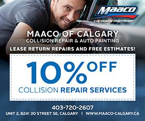 Ad: Maaco of Calgary - Glenmore Trail