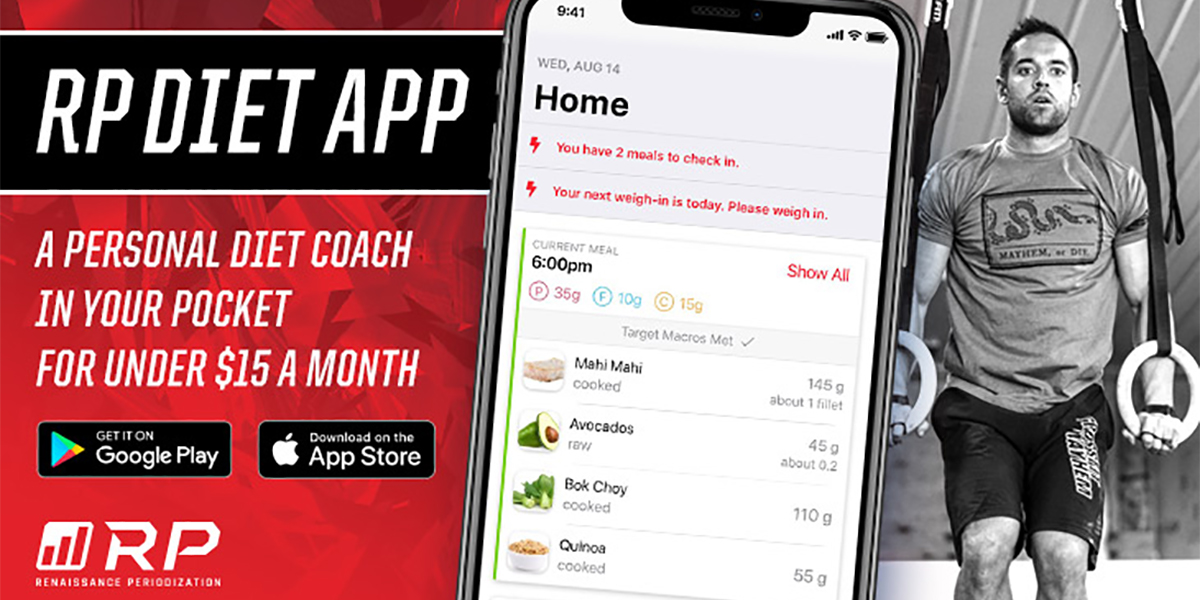 Last day to save on the new and improved RP Diet App!