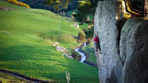 Climbing access, Wharepapa South