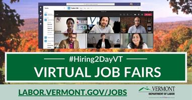#Hiring2DayVT Website Graphic