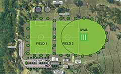 Concept plan for Liz Cunningham Park