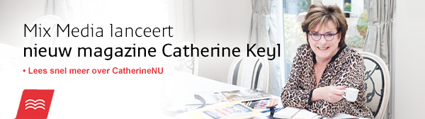Mix Media lanceert magazine met Catherine Keyl: CatherineNU