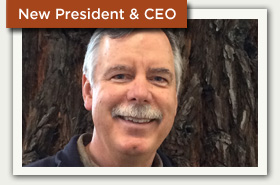 New President & CEO